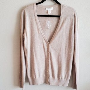 NWOT - Lightweight V-Neck Cardigan